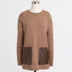 J. Crew | Marino Wool Tunic Sweater